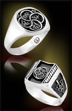 York Rite Masonic Rings