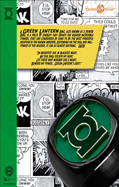 Black Green Lantern Rings