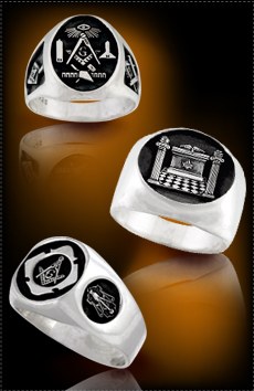 Custom Masonic Rings