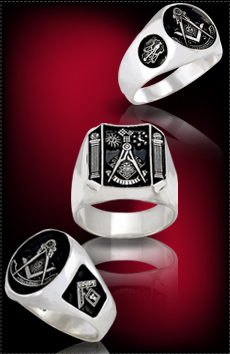 Past Master Masonic Rings