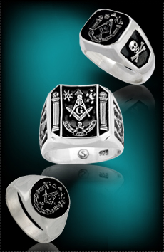 Aude Vide  Masonic Rings