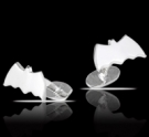 M027 Sterling Silver Batman The Dark Knight Cufflinks