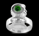 3483 S.Silver Green Lantern Alan Scott Ring