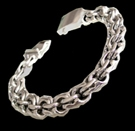 2345R S. Silver Heavy Bracelet Weight 70 grams