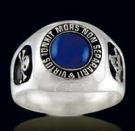 3310Z Sterling Silver Masonic Ring