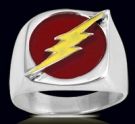 3600R Solid Sterling Silver Flash Ring