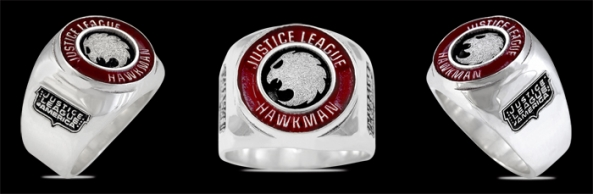 3646 Sterling Silver Justice League Hawkman Ring