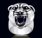 3472 Heavy Sterling Silver Tigger Ring