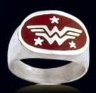 3148 Sterling Silver Wonder Woman Ring