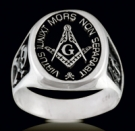 3375 Sterling Silver Masonic Ring
