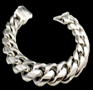 2346K S. Silver Heavy Bracelet Weight 165 grams