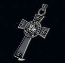1197 Sterling Silver Templar Cross