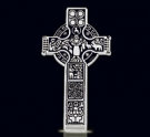 1215  Solid Sterling Silver Celtic Cross