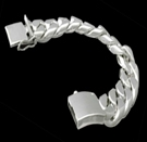 2346s  S. Silver Heavy Bracelet Weight 230 grams