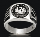 3519 Solid Sterling Silver The Fulcanelli Ring