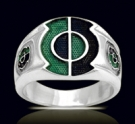 3608 Solid Sterling Silver Kyle Rayner Ring