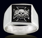 3313 Sterling Silver Chopper Ring