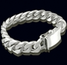 2346B S.Silver Heavy Bracelet Weight 150 grams