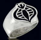 3238 Sterling Silver GI Joe Cobra Ring