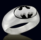 3130B Solid Sterling Silver Batman Ring