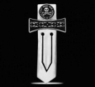 BM007 Sterling Silver Masonic Bookmark