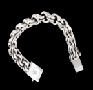 2345e  S. Silver Heavy Bracelet Weight 200 grams