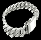 2346O S. Silver Heavy Bracelet Weight 90 grams