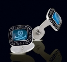 M011-BT Sterling Silver Masonic Cufflinks