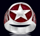 3616 Solid Sterling Silver Wonderwoman Ring