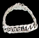 2346L S. Silver Heavy Bracelet Weight 60 grams