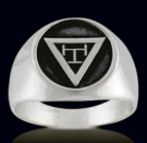 3362 Sterling Silver Masonic Ring