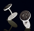 M007 Sterling Silver Masonic Cufflinks