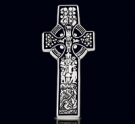 1213 Solid Sterling Silver Celtic Cross