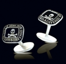 M011 Sterling Silver Masonic Cufflinks