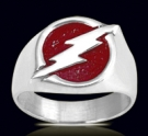 3156 Sterling Silver Flash Ring