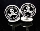 M020 Sterling Silver Masonic Cufflinks