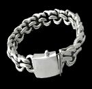 2345 S. Silver Heavy Bracelet Weight 80 grams