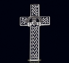 1216 Solid Sterling Silver Celtic Cross