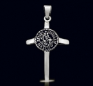 1209 Solid Sterling Silver Knights Templar Cross