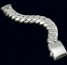 2346D S. Silver Heavy Bracelet Weight 200 grams