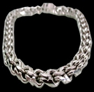 2345n5 S.Silver Heavy Necklace Weight 350 grams