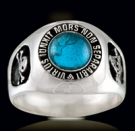 3310BT Sterling Silver Masonic Ring