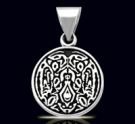 Solid Sterling Silver Jacob Twilight Pendant
