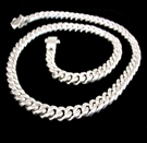 2346I S.Silver Heavy Necklace Weight 100 grams