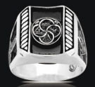 3489 Sterling Silver York Rite Masonic Ring